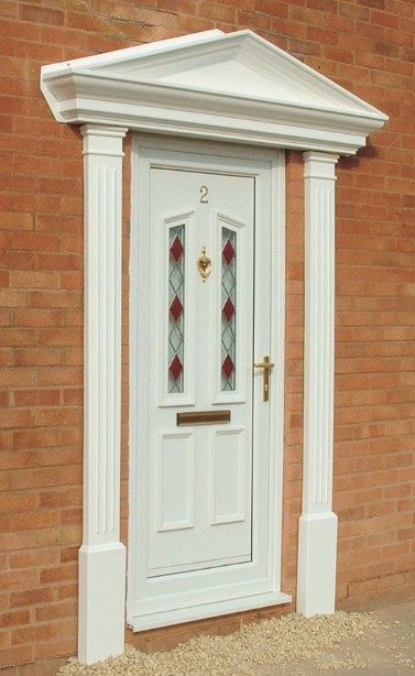 Romanesque Columns. Glassfibre, Fibreglass, Porches, Roofs, Conopies, Bow  Canopy, Grp,windows