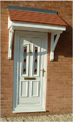 glassfibre fibreglass porches roofs conopies bow canopy grpwindows & Over Door Canopies